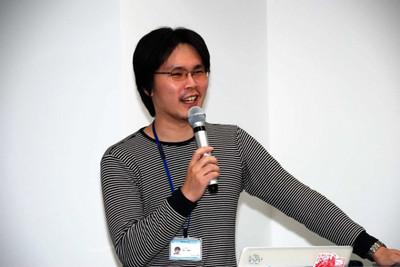 当日の司会を務めた技術コミュニケーション室室長の清水俊博さん