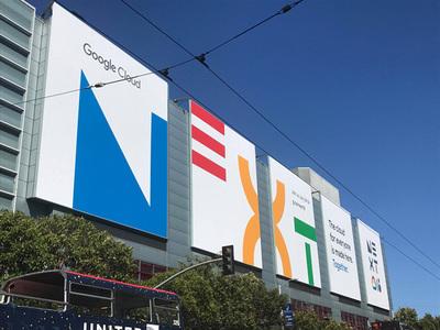 「Google Cloud Next '18」会場となった米サンフランシスコのモスコーン・センター