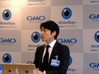 (今夏にも解禁が予想される)ネット選挙に向け,「日本で始めてとなるネット選挙を安心に,そして便利にできるようインターネットインフラ企業として可能な限りサポートしていきます」と述べたGMOインターネット株式会社代表取締役会長兼社長・グループ代表の熊谷正敏氏