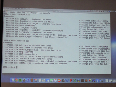 APIによる操作
