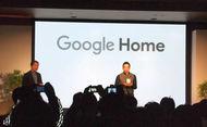 Google Homeを紹介する,グーグル合同会社ハードウェアパートナー事業開発本部統括部長,埜々内ルイ氏