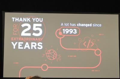 1993年の創業から今年で25周年を迎えたRed Hat。26年目からはIBMの一ユニットとして新しい歴史を刻むことになる