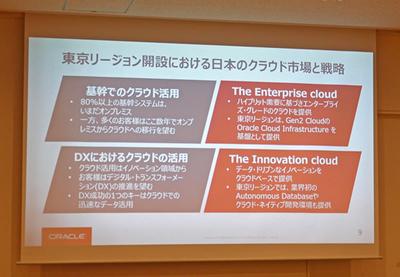 東京リージョン開設における日本のクラウド市場と戦略