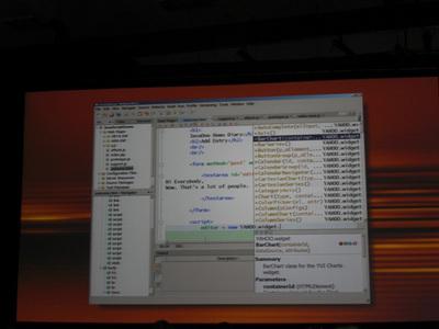 写真5 JavaScript Support in NetBeans