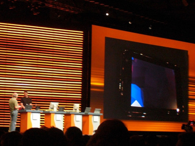 写真6 Java on NVidia APX 2500