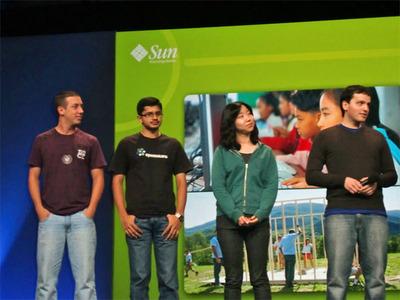 写真 Solaris University Challengeで受賞した面々