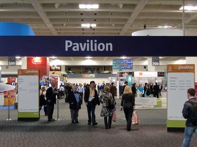 写真1 JavaOne Pavilionの入口