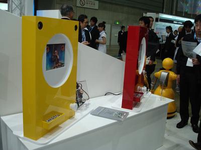 写真2 インテルブース(その2)