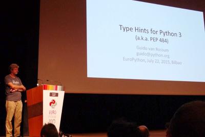 Pythonのお父さん,Guidoの発表