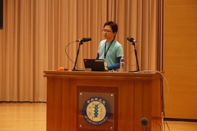 写真2 清水川氏によるSphinx国際化の発表