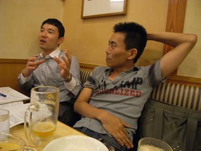 島田さん(左)と角谷さん(右)