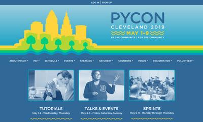 「US PyCon 2019」Webサイト