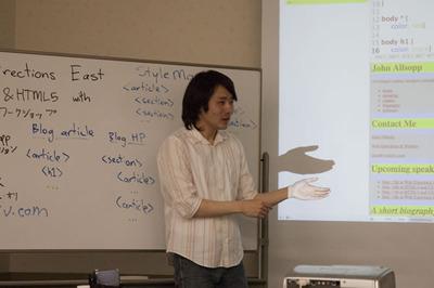 写真2 長谷川恭久氏