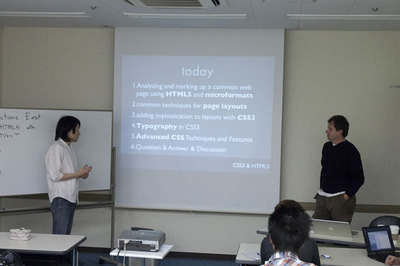 写真3 カリキュラムの紹介