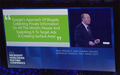 「世の中は,グーグルのターゲティング広告はどれだけプライバシーを侵害したら済むんだ! という流れになりつつある」