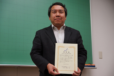 OSS奨励賞 特定非営利法人TOPPERSプロジェクト会長の高田広章さん