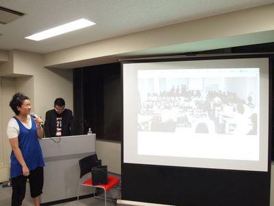Re:Creator's Kansaiから,<wbr/>株式会社スワールコミュニケーションズ代表 小山瑞穂氏が登壇。リクリの愛称で知られ,<wbr/>関西のクリエイターの交流,<wbr/>勉強会・<wbr/>セミナーの開催を目的としたコミュニティとして活動しています