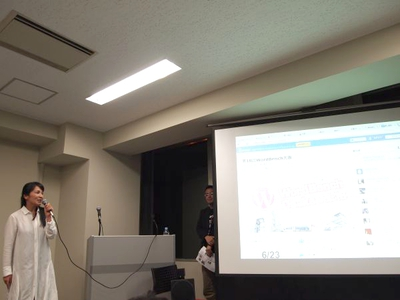 もう1つはWordBench大阪の代表 額賀順子氏。世界最大規模のユーザ数を誇るCMS・ブログツールWordPressは関西コミュニティも盛り上がっています