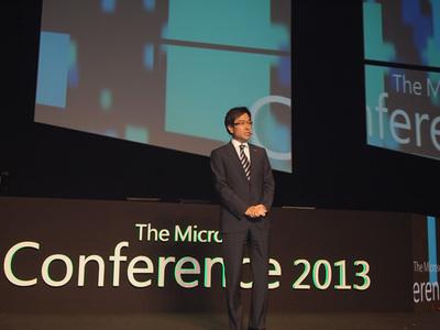 日本マイクロソフト代表執行役社長 樋口泰行氏
