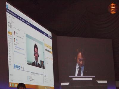 ビデオ会議ツールを経由して,各種データを活かした遠隔治療につなげることもできる