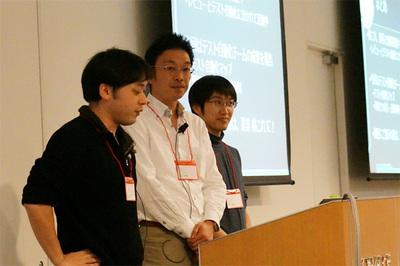 左から,前川さん,川口さん,森田さん