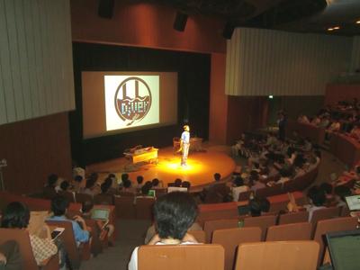 日本UNIXユーザ会法林浩之氏の開会宣言でスタート