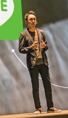 写真1 CEOの出澤剛氏