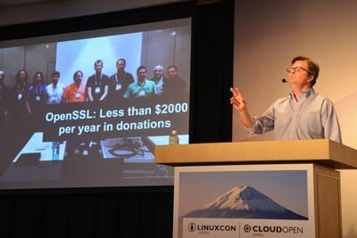 OpenSSLプロジェクトへの寄付は年間2000ドルに満たない