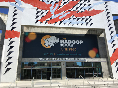 Hadoop Summit 2016 San Joseの会場となったサンノゼコンベンションセンター