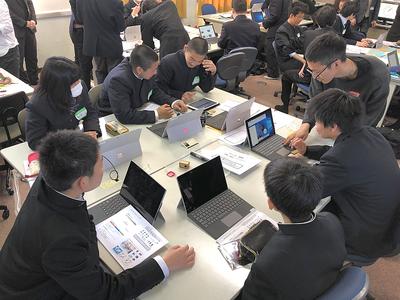 ICTを中心に新技術活用し,チームで行うものづくりを体験できた時間となった