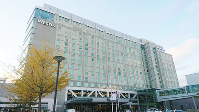 会場となった The Westin Boston Waterfront