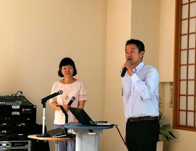 大内佳子さん(左)と大崎雅行さん(右)