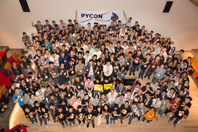 PyCon Thailand参加者の集合写真