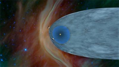 ソーラーバブルこと太陽圏を離脱したボイジャー1号はすでに星間空間に向かって新たな旅を開始している。ボイジャー1号より2週間先に打ち上げられたボイジャー2号は現在,ヘリオシーズ(末端衝撃波面からヘリオポーズまでの空間)を航行中で,数年後にはボイジャー1号につづき,ソーラーバブルに人類による2つめの穴をあけることになるはずだ。