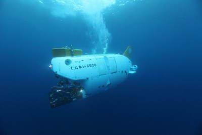 いざ深海の旅へ!(画像提供:JAMSTEC)