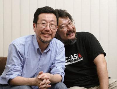 左:よしおかひろたか氏,右:小飼弾氏(撮影:武田康宏)